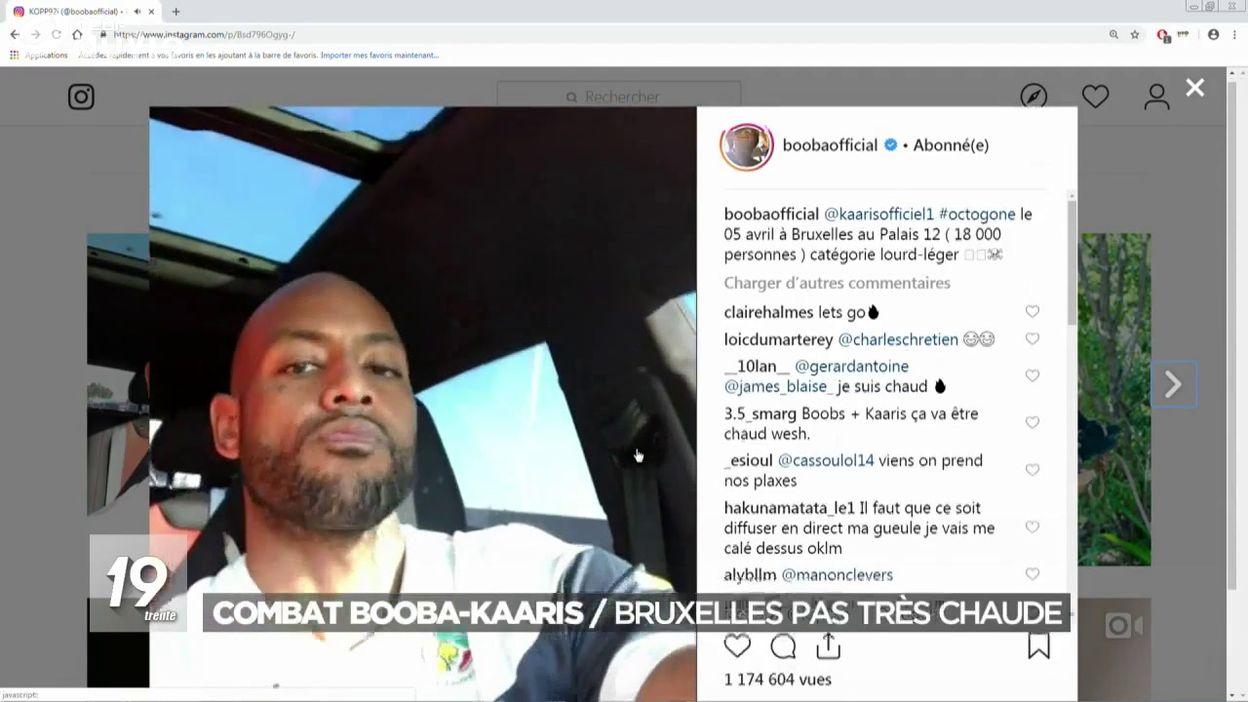 Combat Booba contre Kaaris à Bruxelles: le Palais 12 confirme la demande et l'étudie