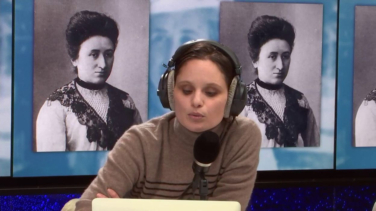 La révolutionnaire Rosa Luxemburg