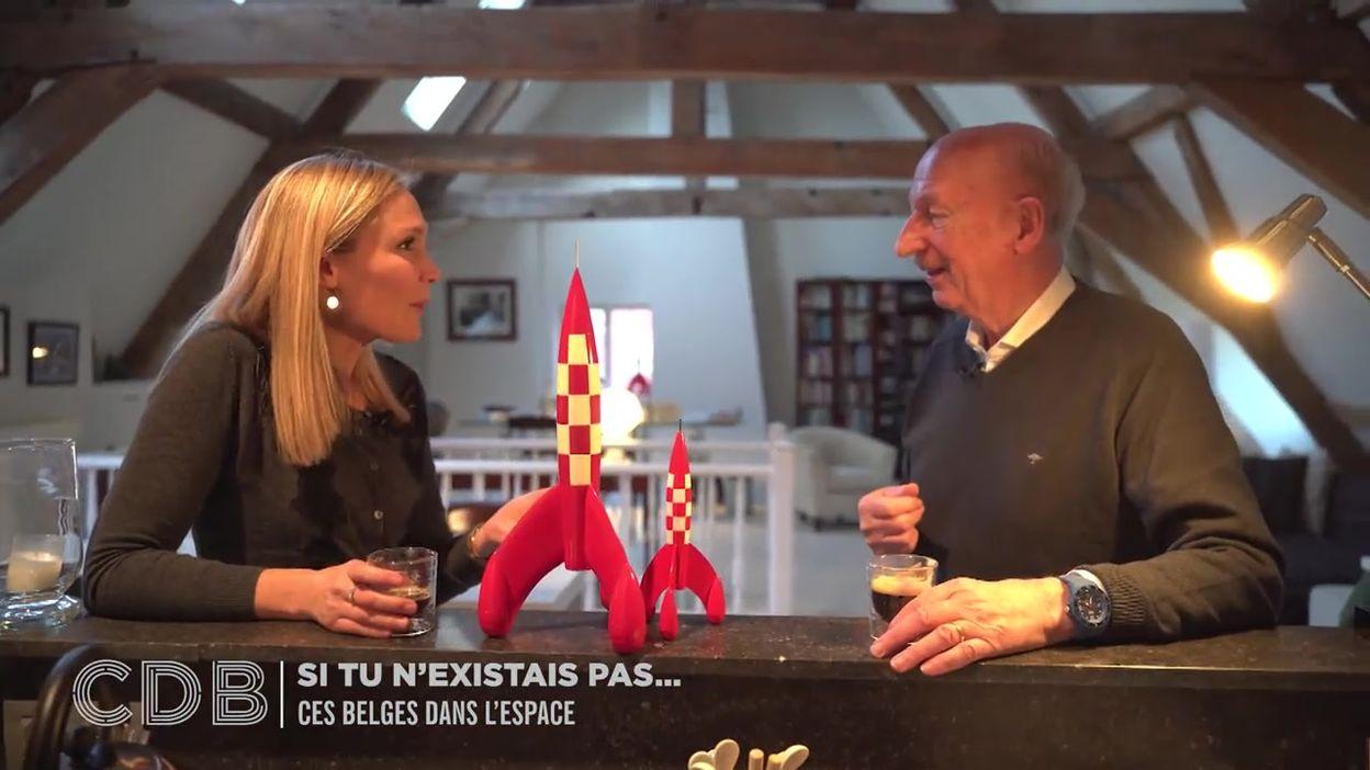 Ces Belges dans l'espace
