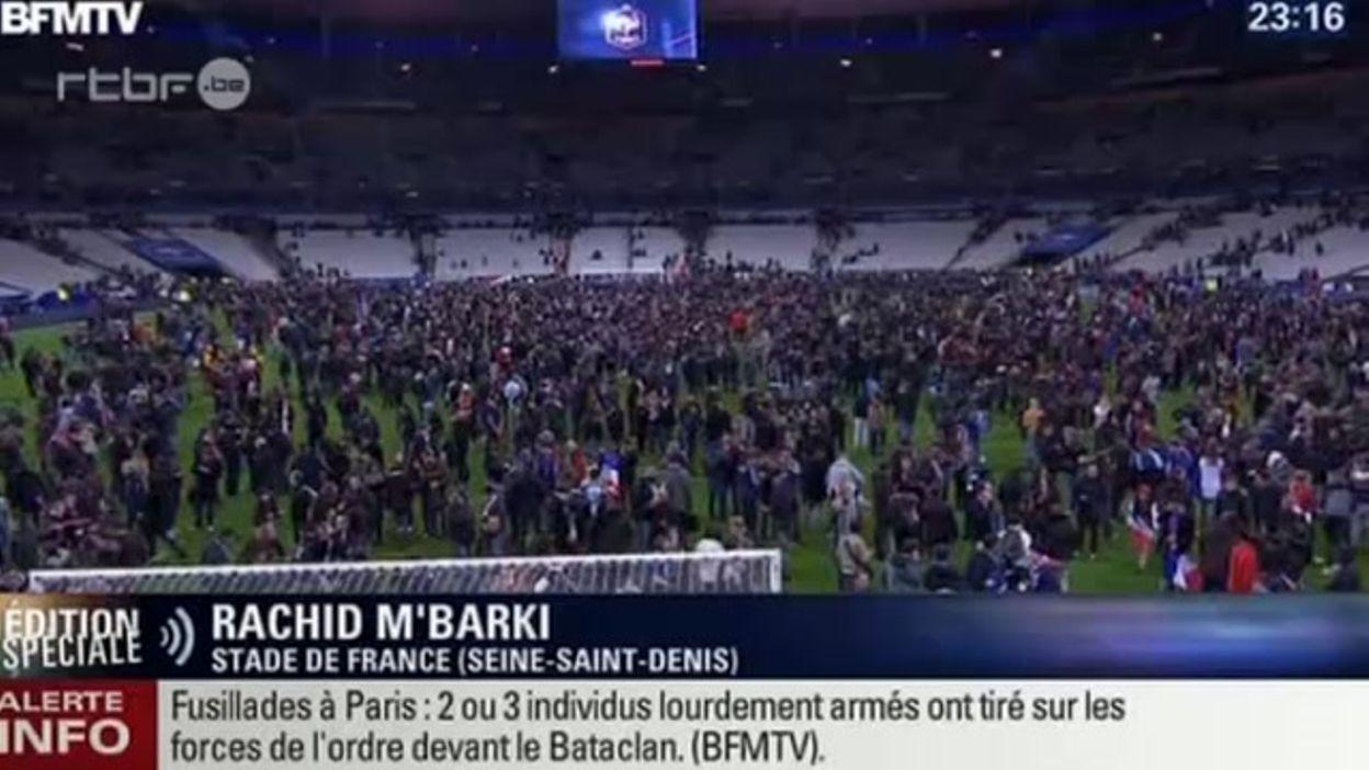 Attaque terroriste au stade de France