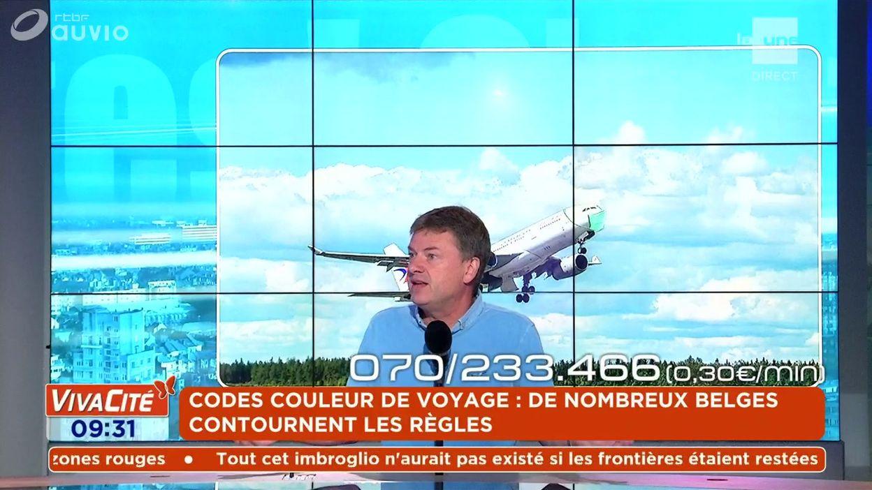 Codes couleur de voyage : de nombreux Belges contournent les règles
