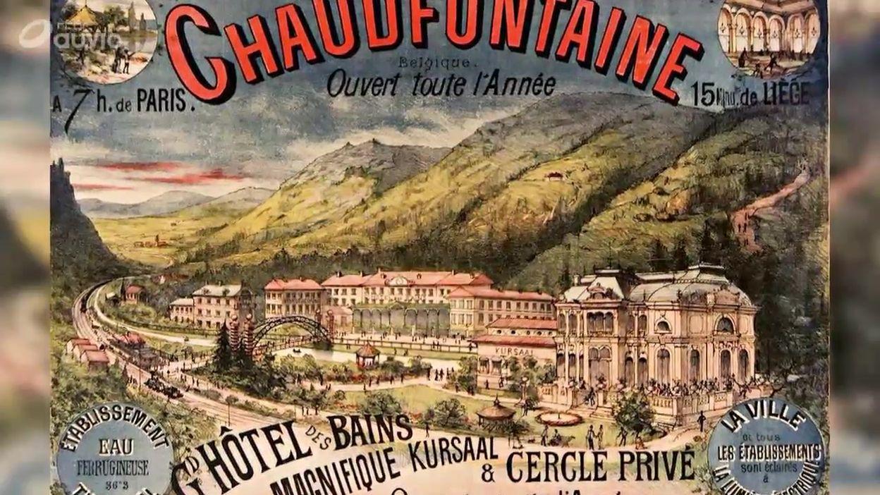 Le château des thermes de Chaudfontaine
