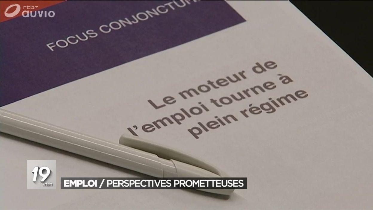 Les perspectives d'emplois de la FEB et les chiffres du chômage à Bruxelles