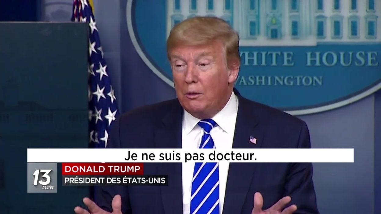 Coronavirus : Donald Trump et la science....