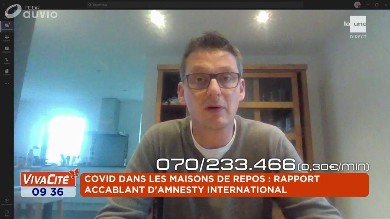 Covid dans les maisons de repos : rapport accablant d'Amnesty International