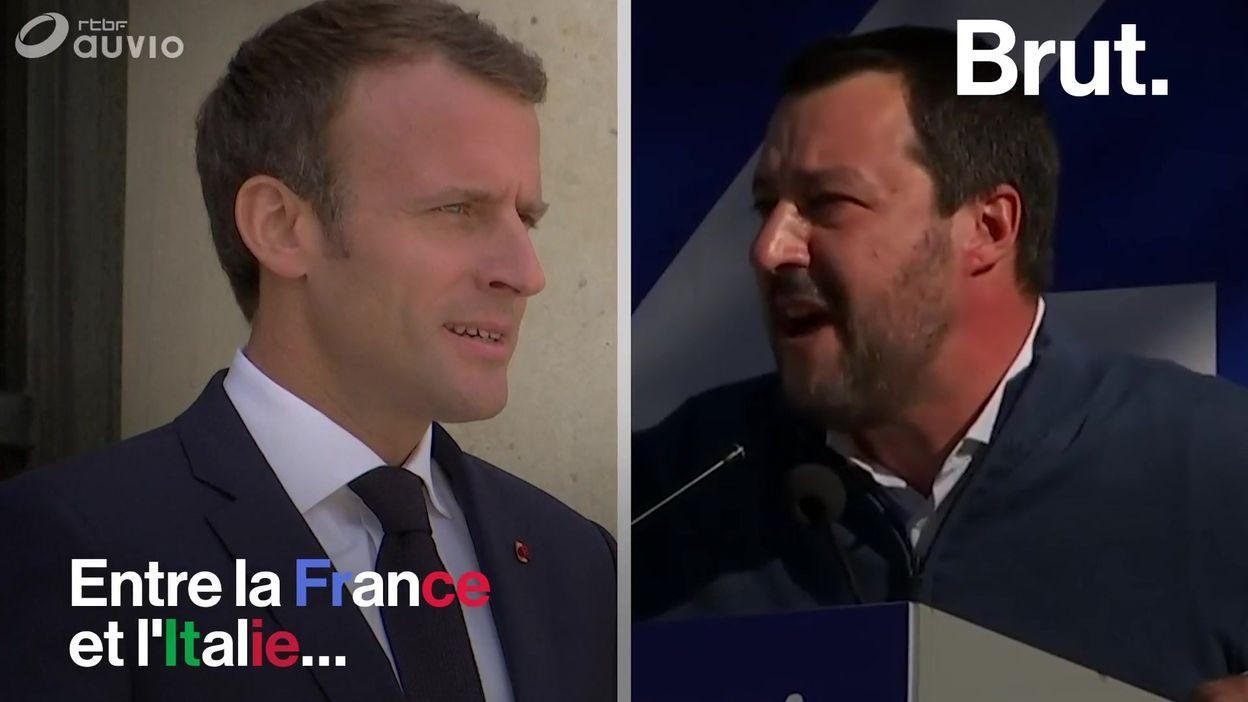 Crise franco-italienne : les accusations des dirigeants italiens à l'encontre de la France