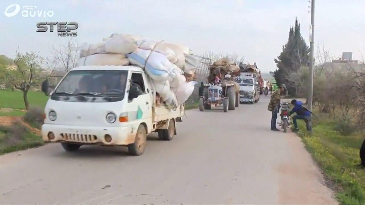 Syrie: l'armée turque approchant, des civils kurdes fuient Afrine