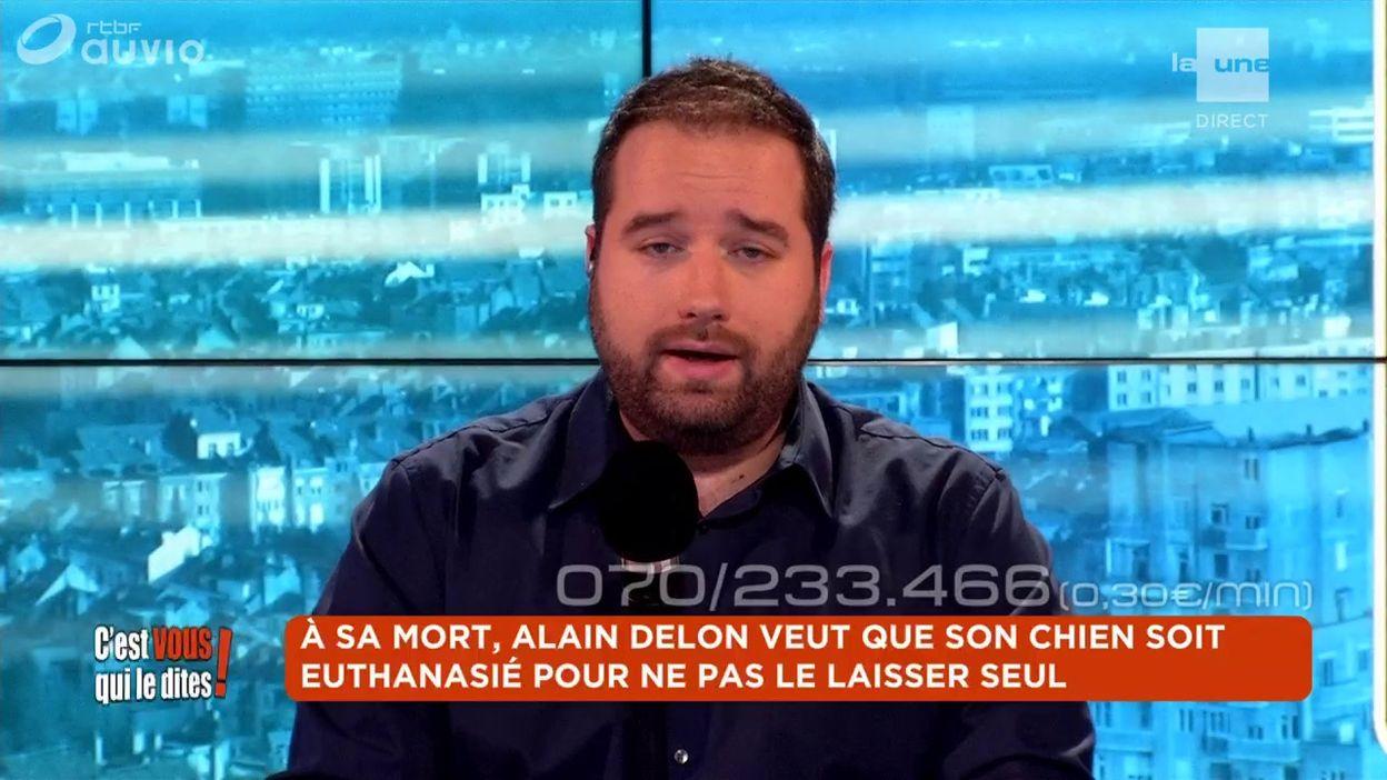 À sa mort, Alain Delon veut que son chien soit euthanasié pour ne pas le laisser seul