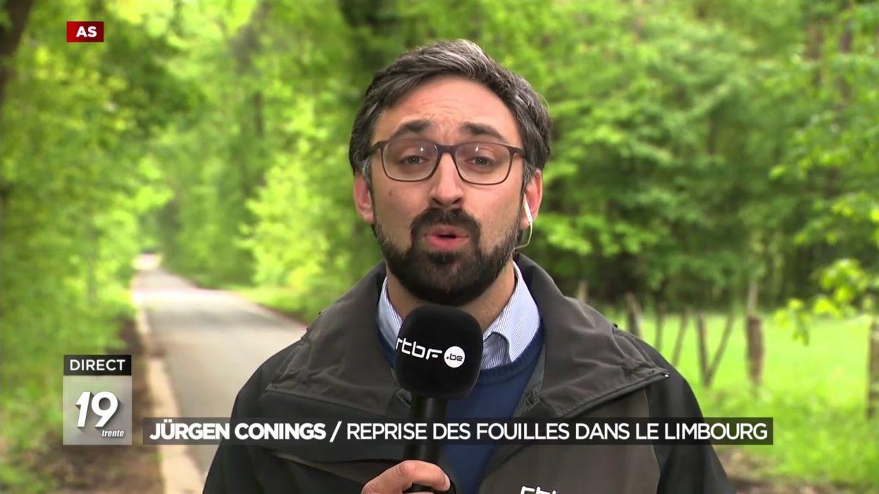 Jürgen Conings : Reprise des fouilles dans le Limbourg