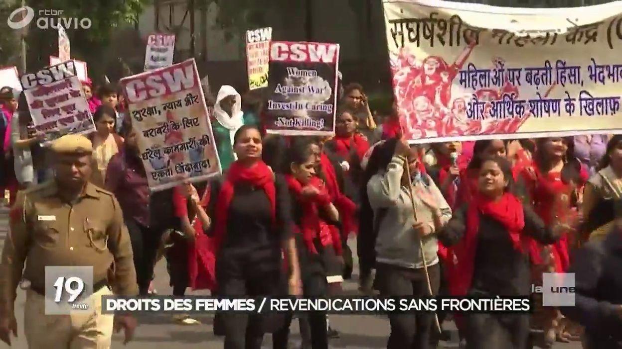 La Journee Internationale Des Droits Des Femmes Dans Le Monde Jt