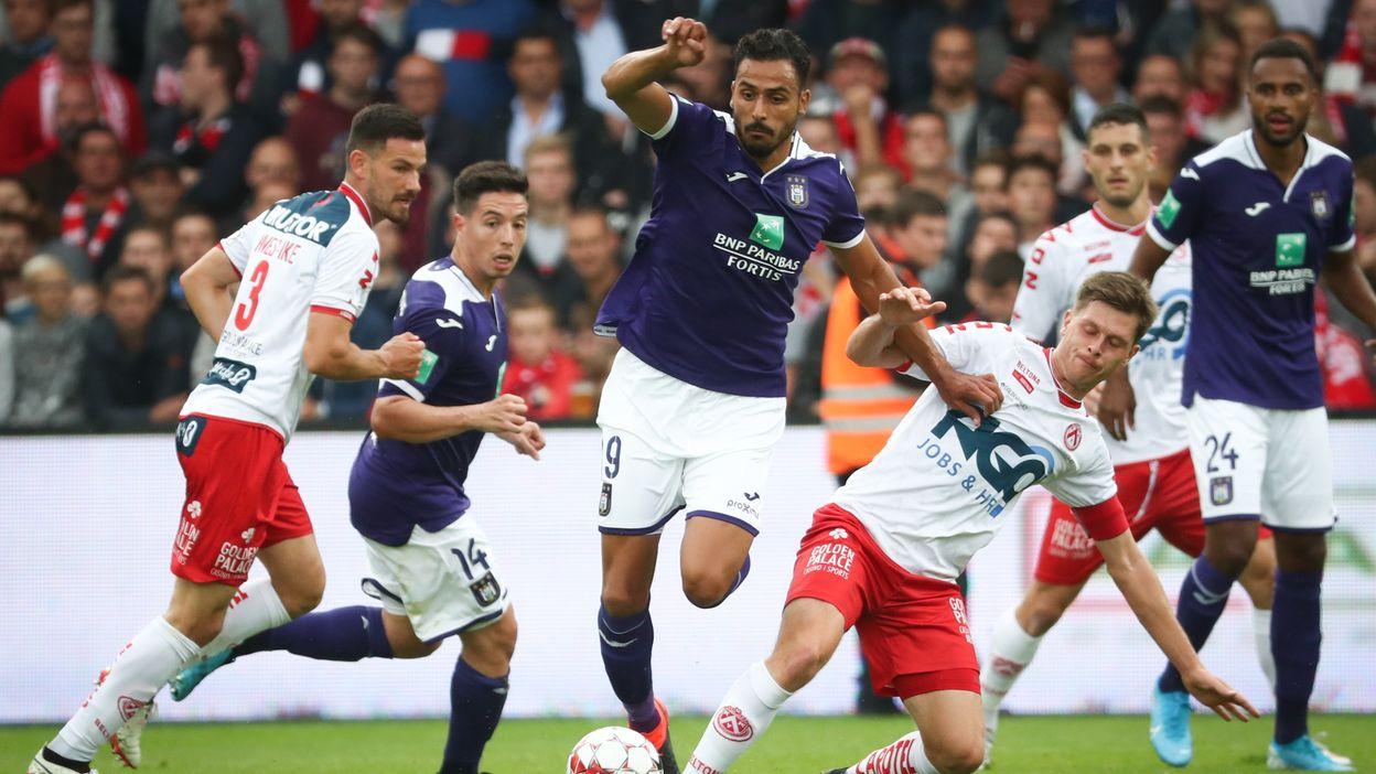 Courtrai - Anderlecht : Le résumé