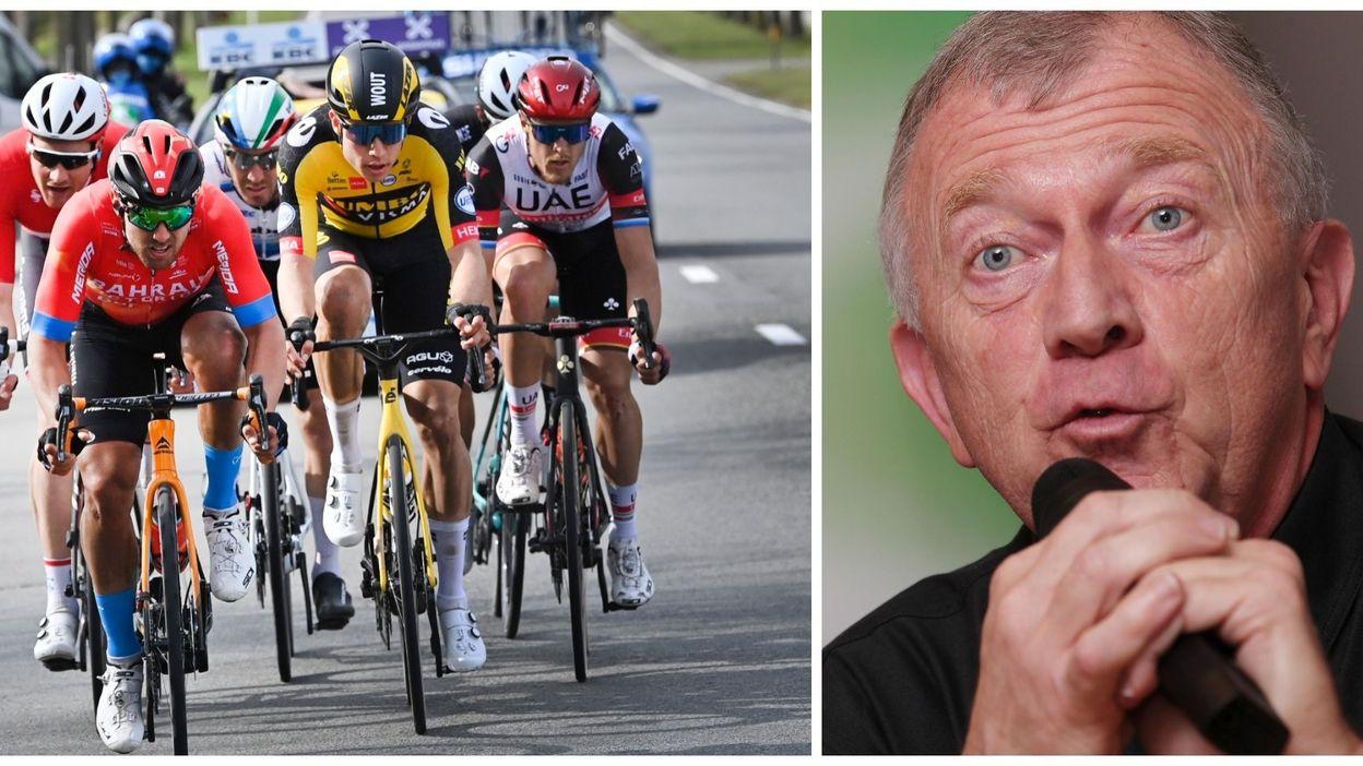 Gérard Bulens après la victoire de Wout van Aert à Gand-Wevelgem :
