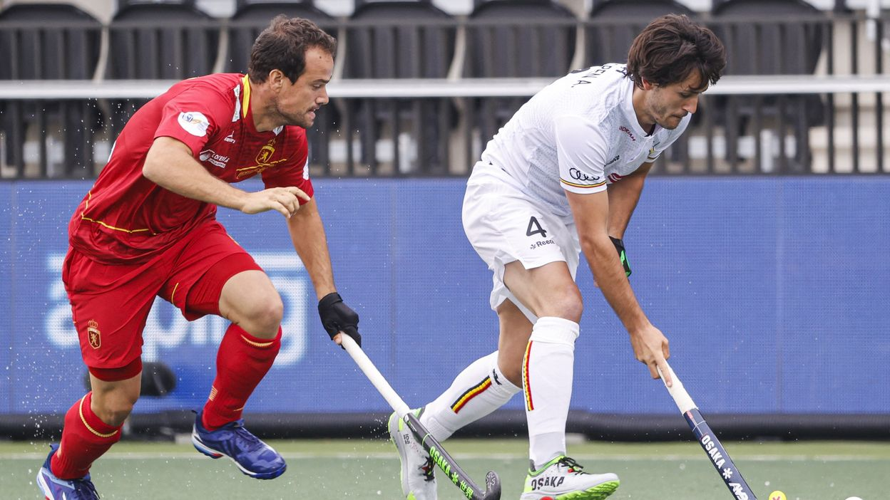 Belgique - Espagne : 4-2