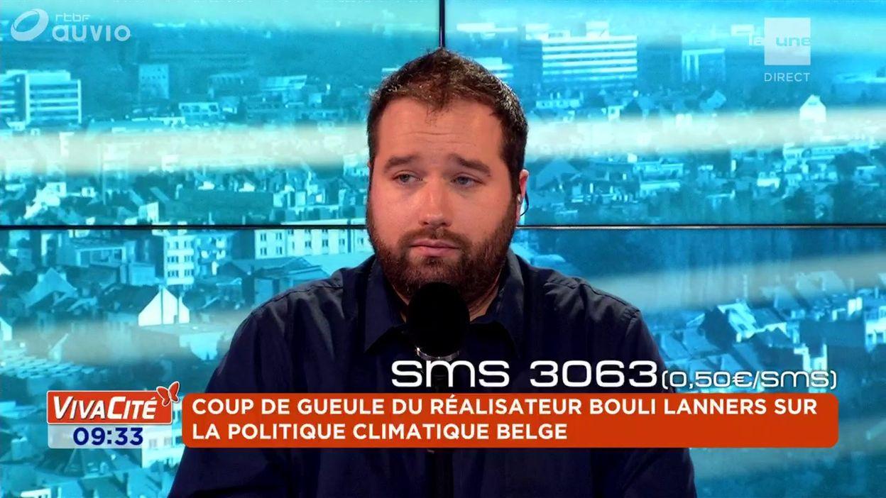 Coup de gueule du réalisateur Bouli Lanners sur la politique climatique belge
