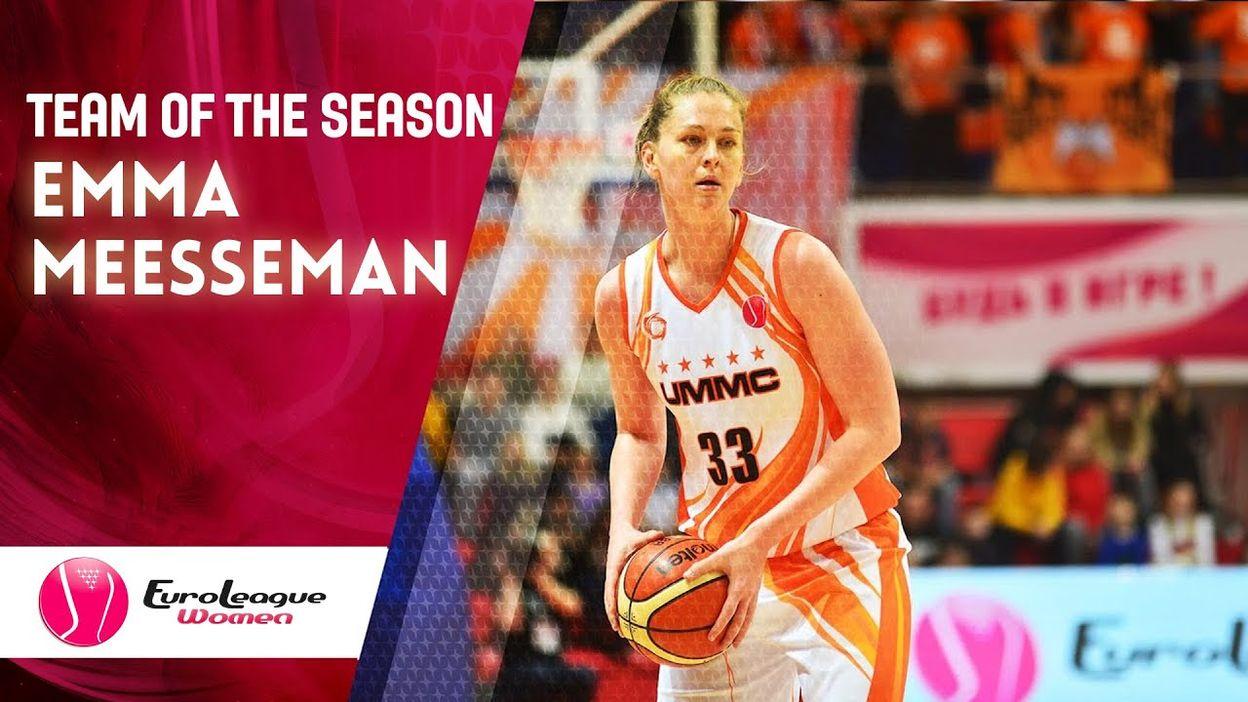 Emma Meesseman - All EuroLeague Women 2019-20 1st Team (Full ...