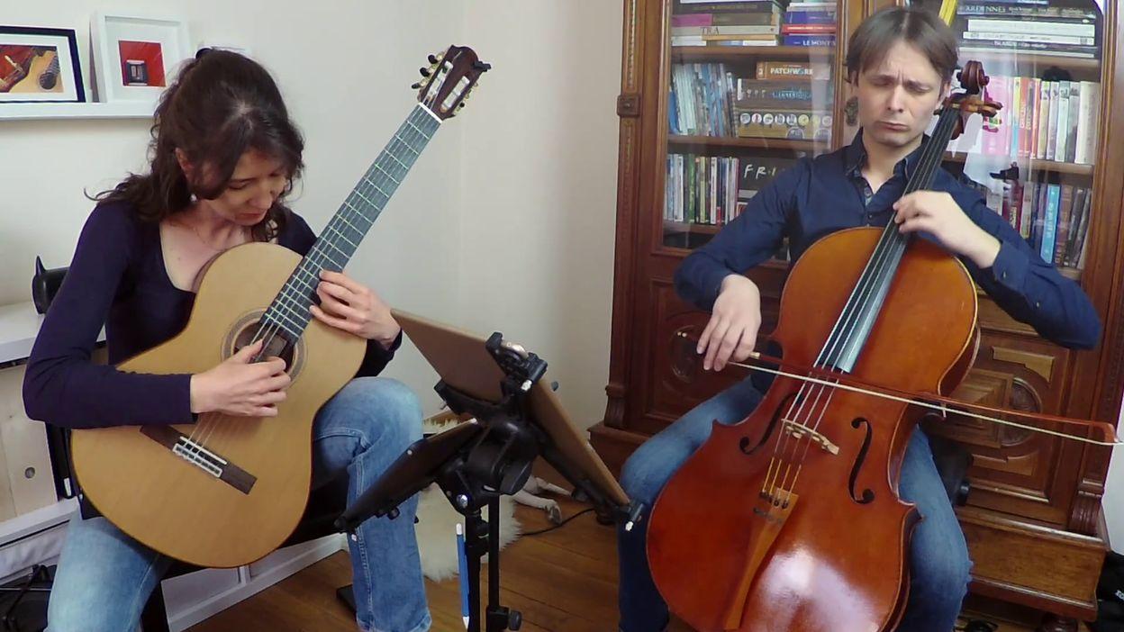 Le Edenwood Duo joue Light Blue de Giorgio Mirto
