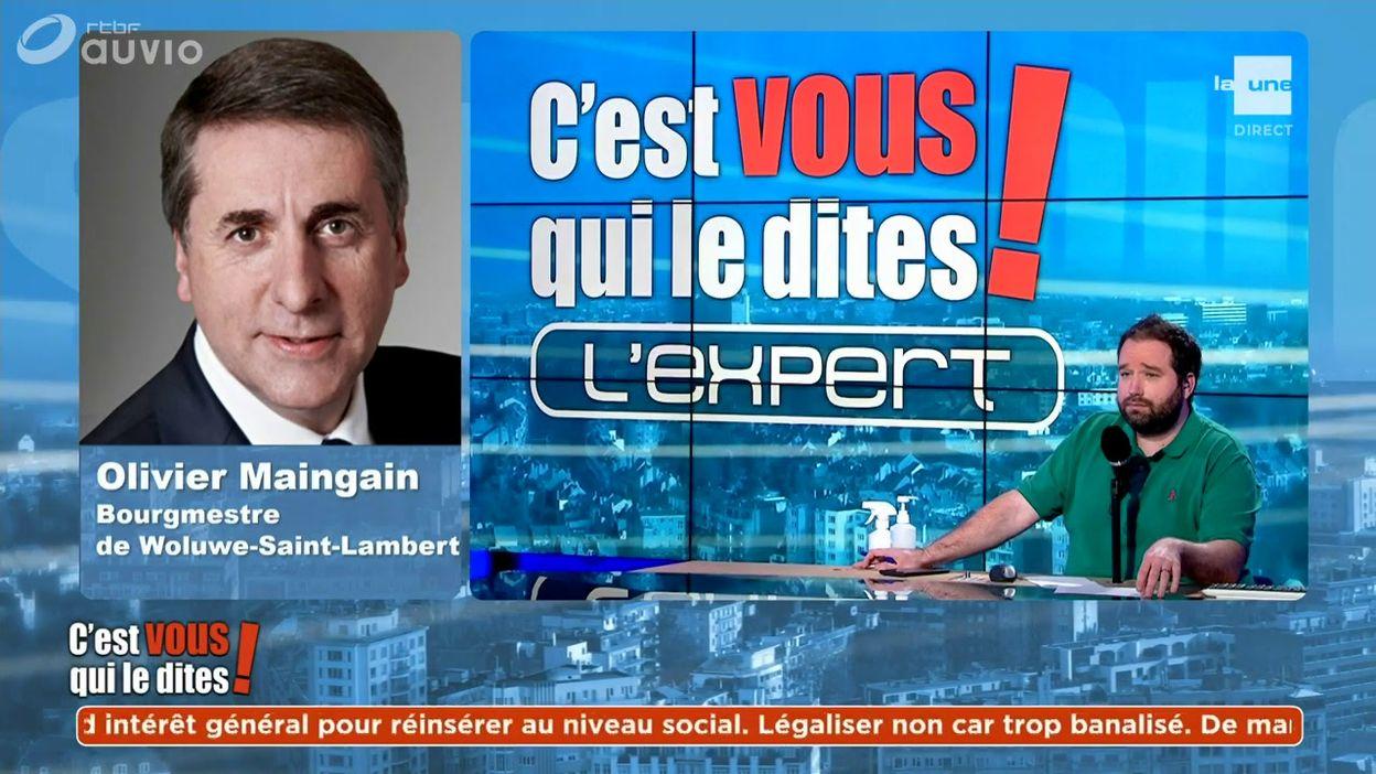L'expert du débat : Olivier Maingain, bourgmestre de Woluwe-Saint-Lambert