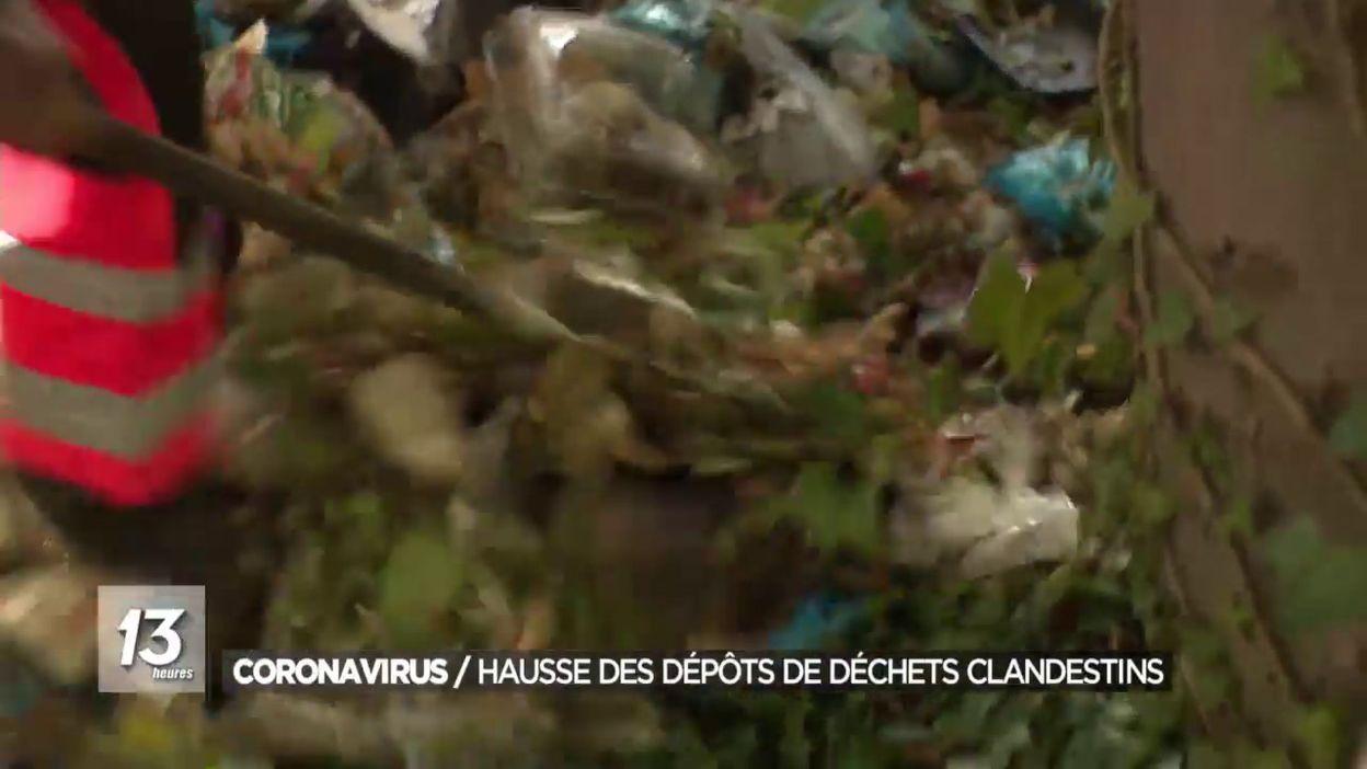 Coronavirus : Hausse des dépôts de déchets clandestins