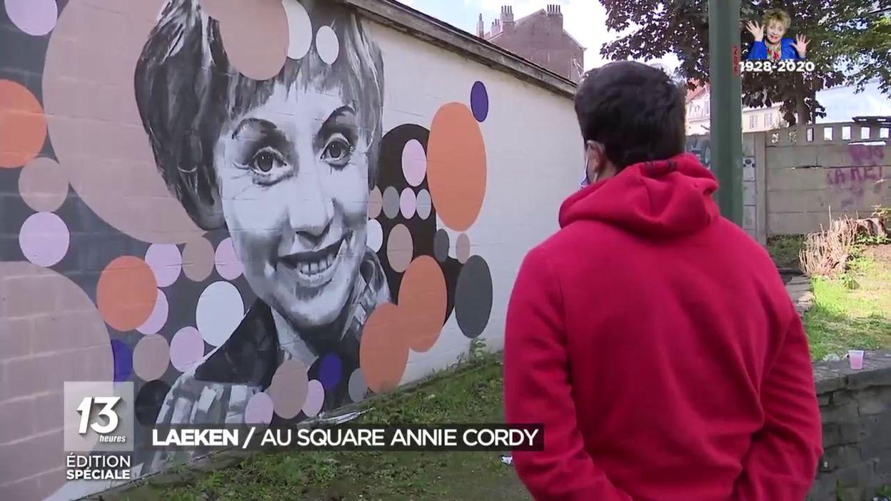 Laeken: au square Annie Cordy