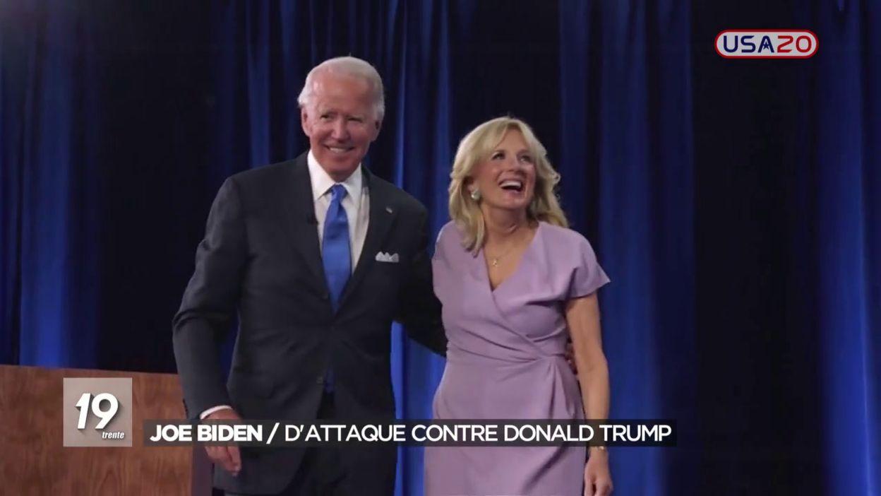 Joe Biden / Dattaque contre Donald Trump