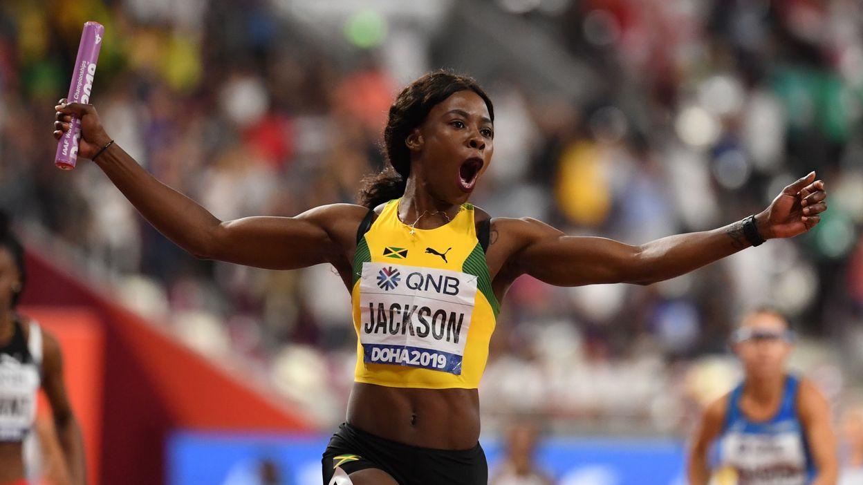 Les Jamaïcaines remportent sans surprise le relais 4x100 m