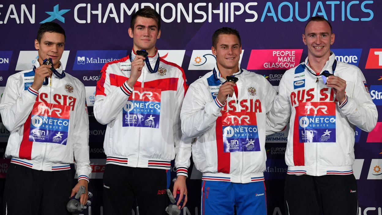 Le relais 4x100 m messieurs russe sacré champion d'Europe
