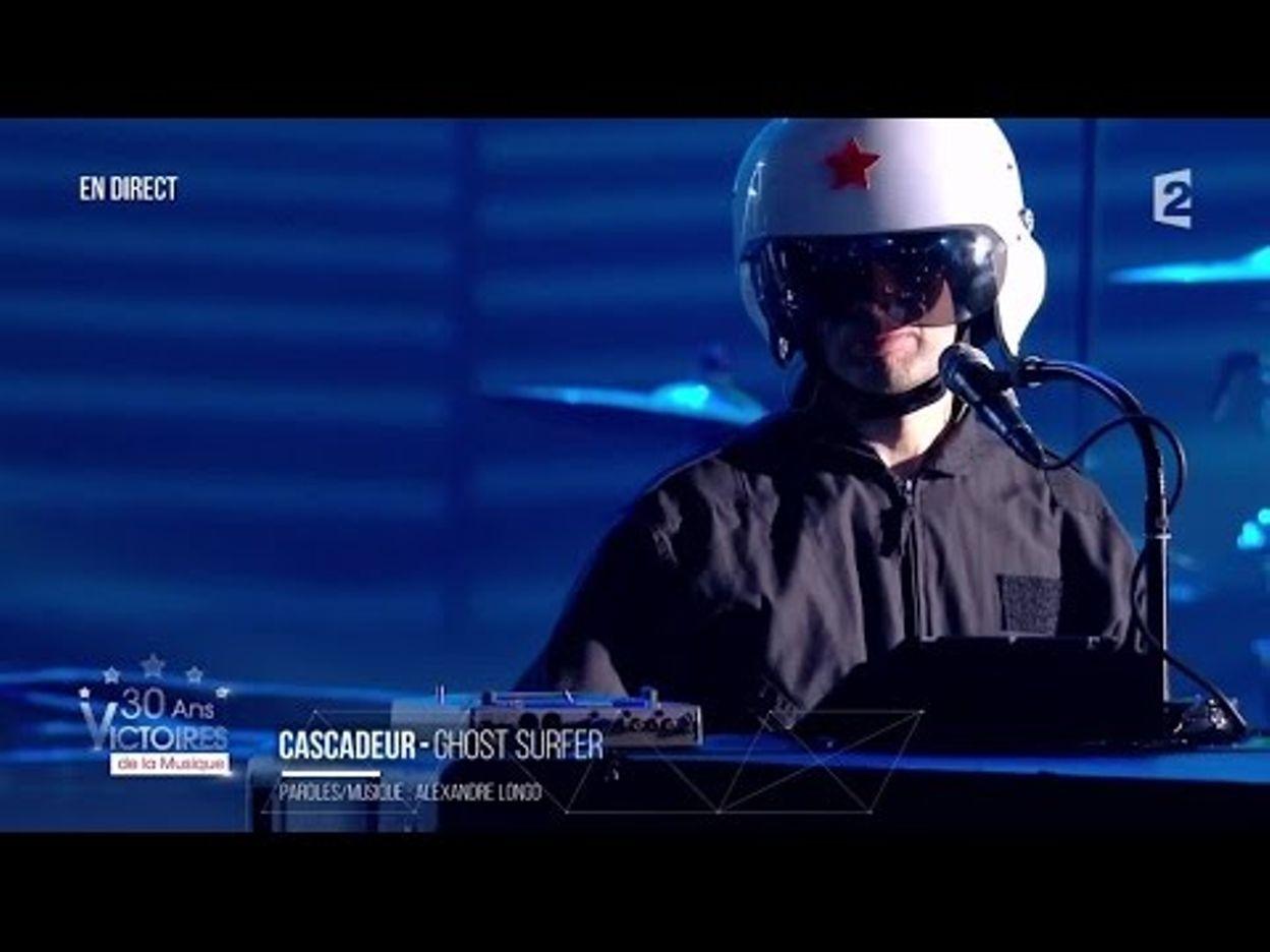 Cascadeur  – « Ghost Surfer » Victoires de la Musique 2015