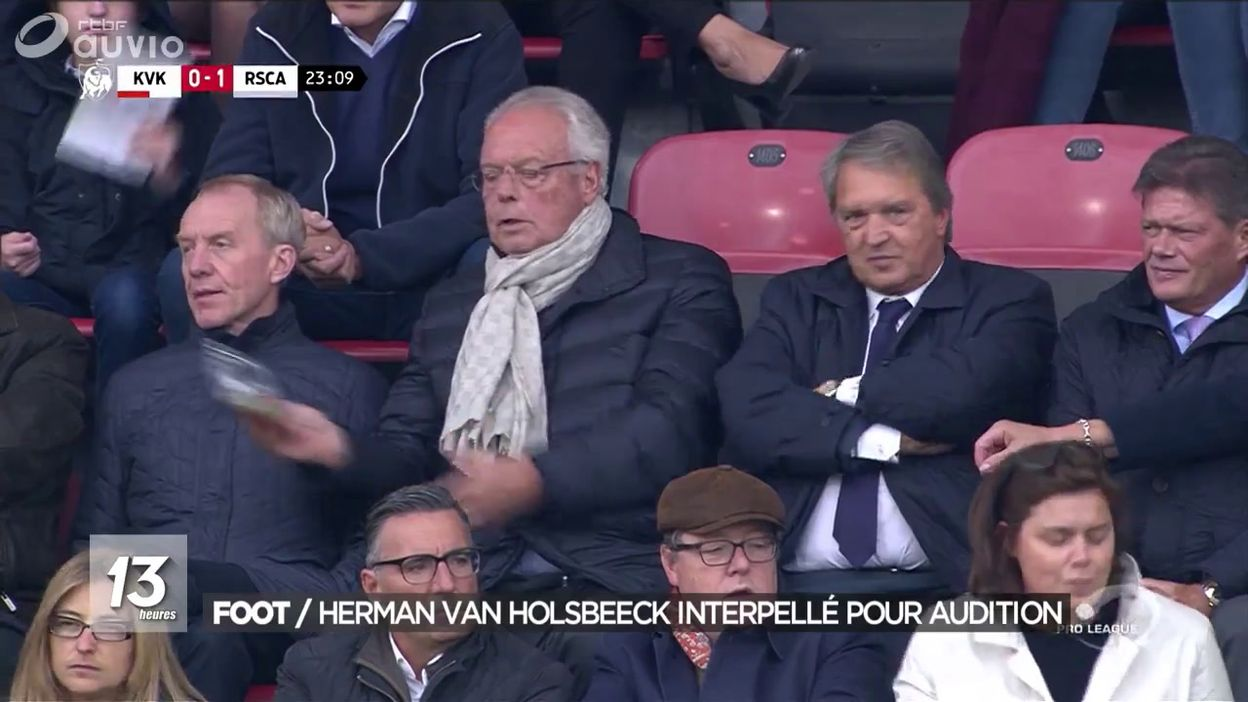 Herman Van Holsbeeck ancien manager d Anderlecht interpellé à son tour