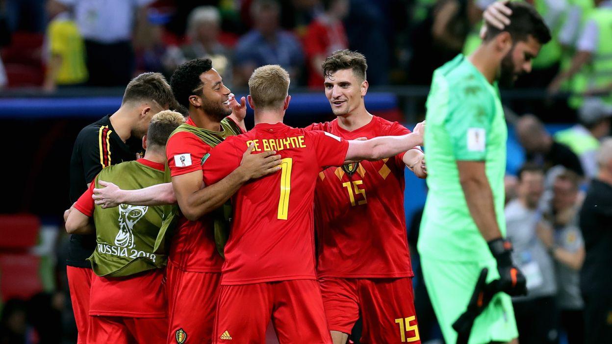 Brésil - Belgique : 06 juillet 2018 (1-2)