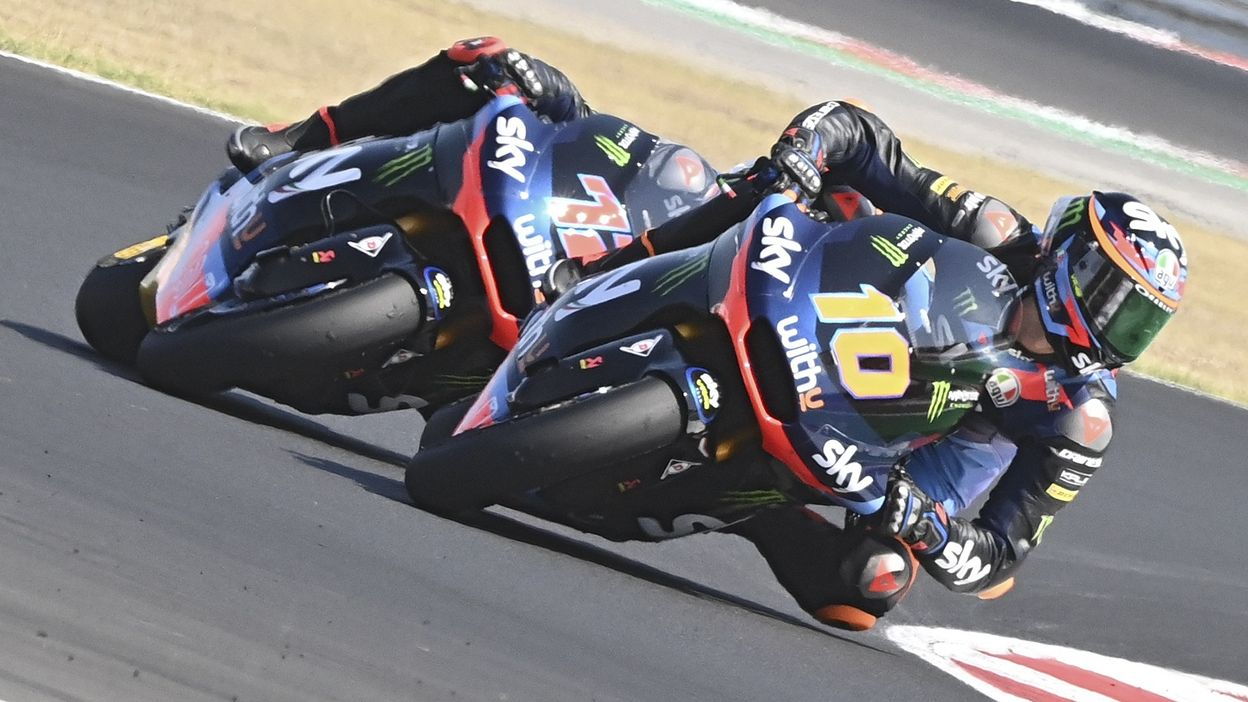 Moto2 : GP Saint-Marin 2020 : Victoire de Luca Marini