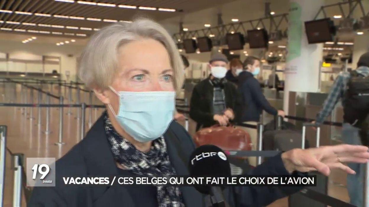 Vacances: ces Belges qui ont fait le choix de l avion