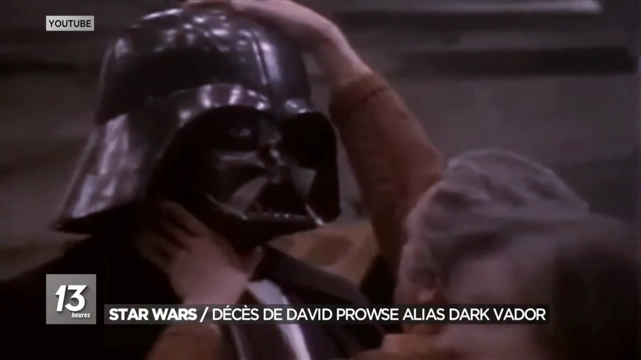 Star Wars : décès de David Prowse alias Dark Vador
