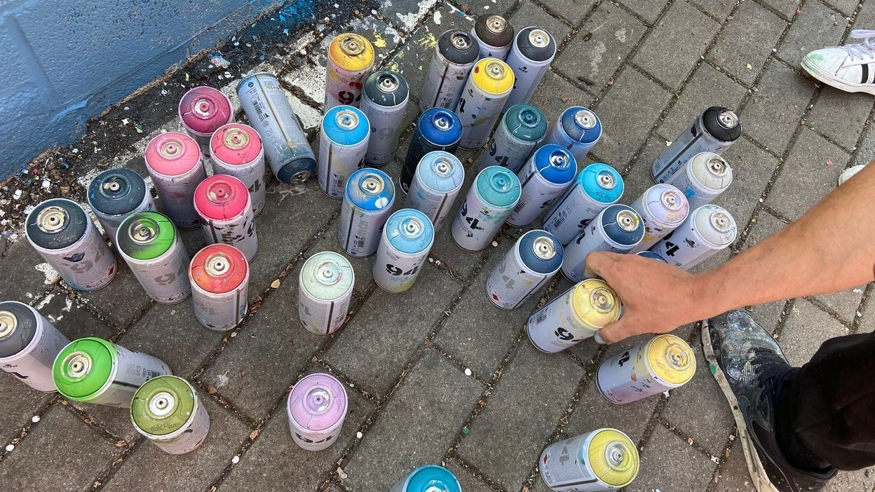 Une formation graffiti