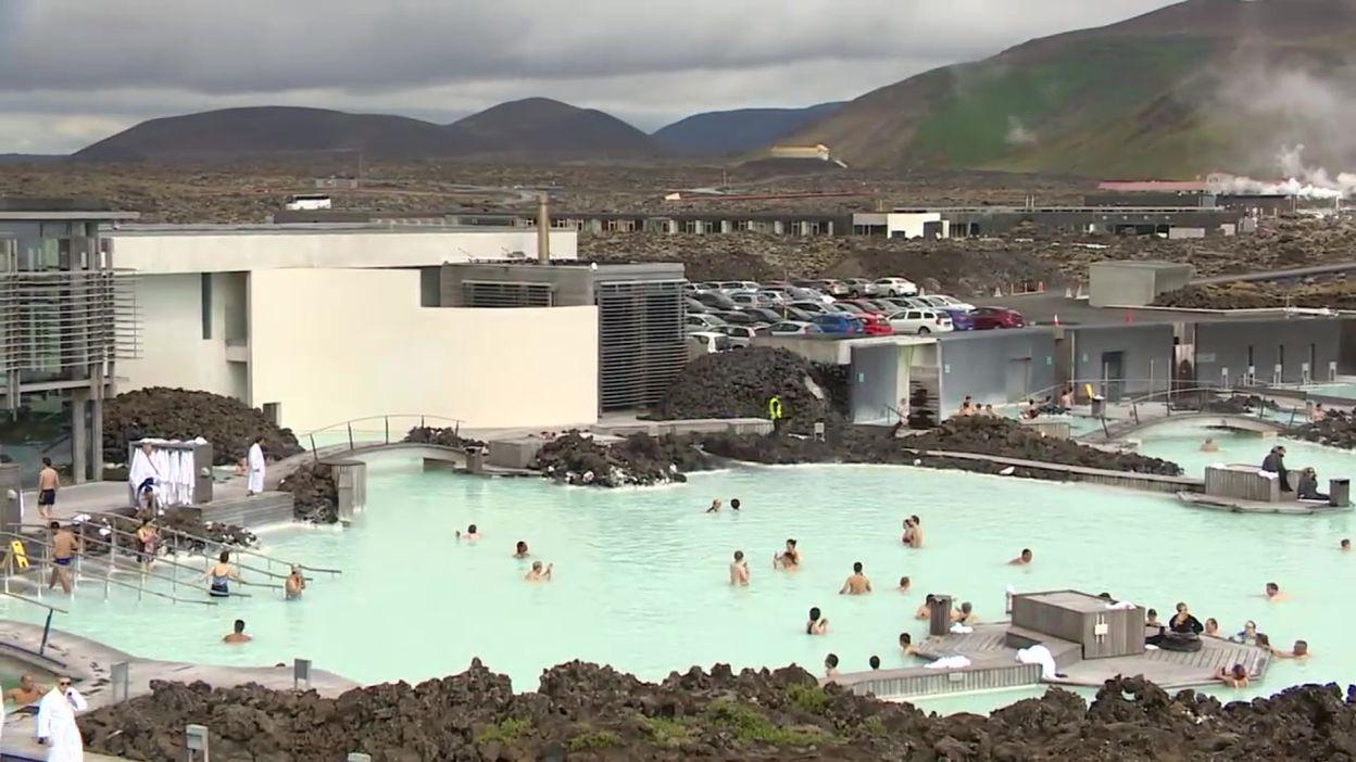 Islande: le lagon bleu et ses environs