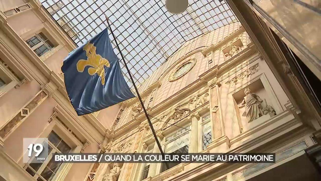 Journées du patrimoine à Bruxelles sur le thème de la couleur