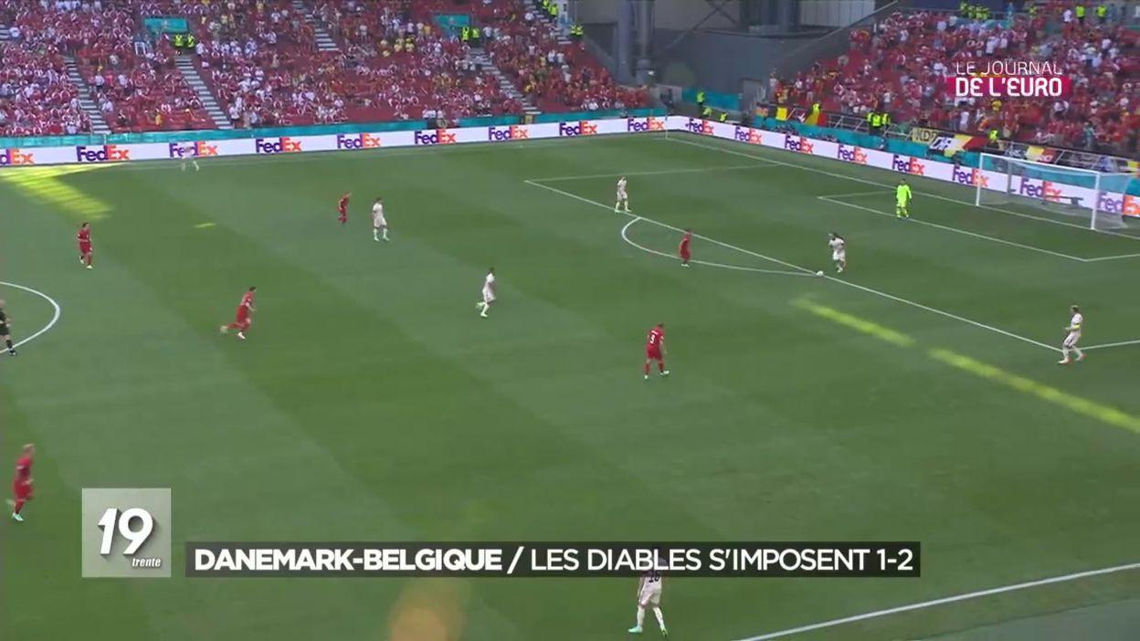Danemark-Belgique : les Diables s imposent 1-2