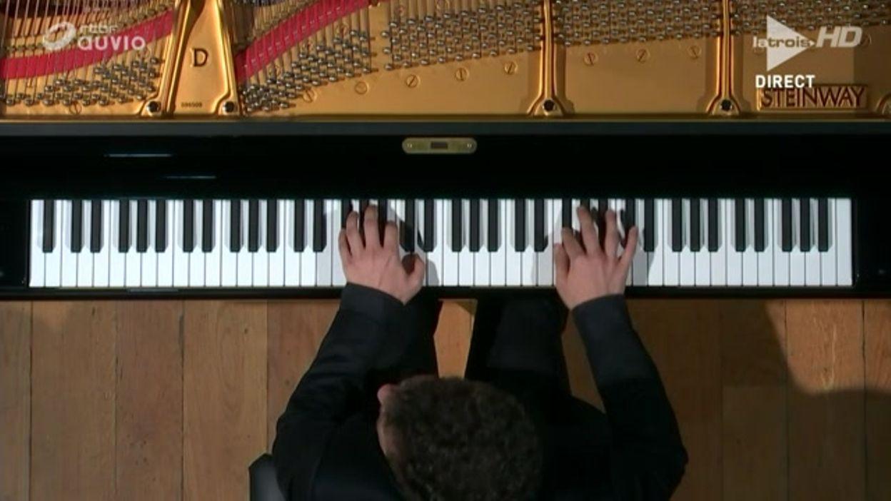 Queen Elisabeth 2016 - piano  - Henry Kramer – Demi-finale – Concerto n.25 de Mozart