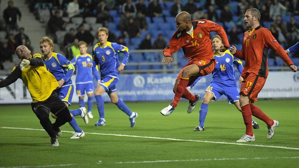 Kazakhstan - Belgique : 08 octobre 2010 (0-2)