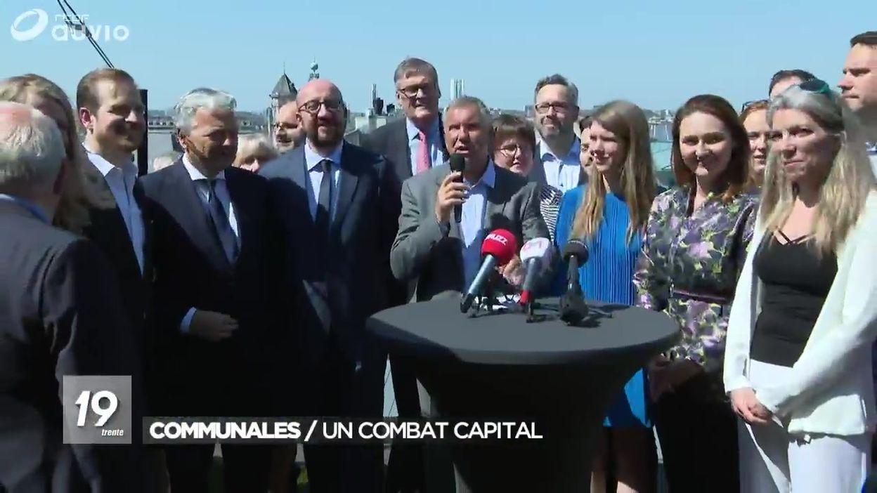 Elections communales : la liste MR-Open VLD de Bruxelles-Ville