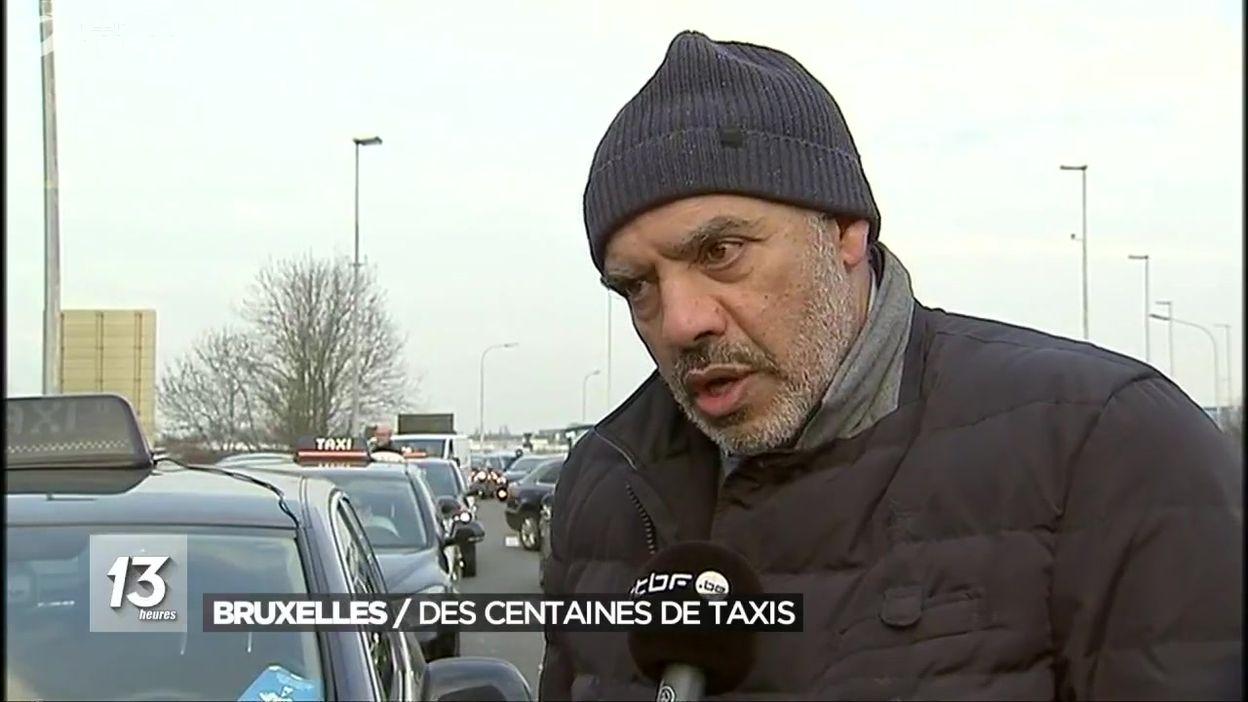 Mobilisation des taxis : paralysie partielle du ring et des entrées de Bruxelles