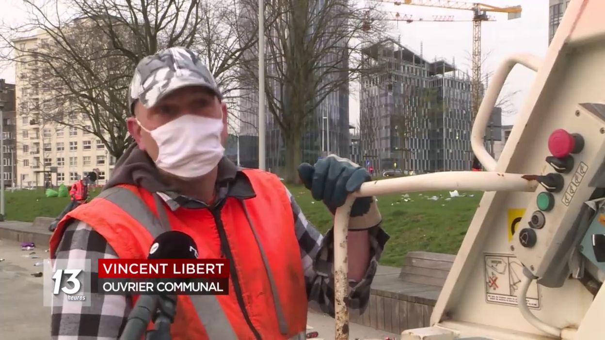 Liège : Un spectacle désolant à la suite du beau temps