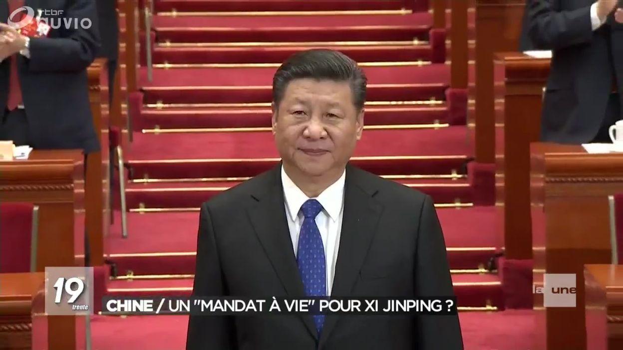 Chine : Xi Jinping, Président à vie