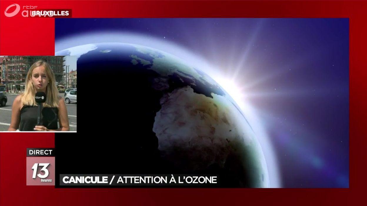Canicule : attention à l'ozone