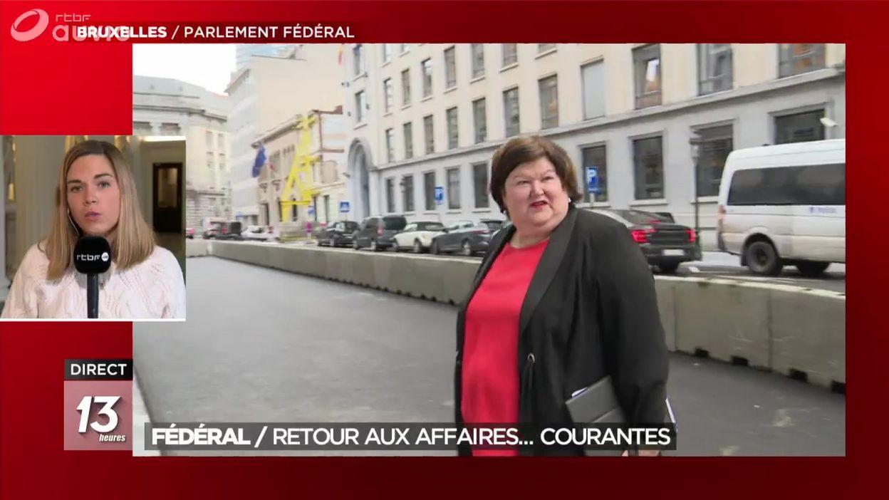Gouvernement fédéral : retour aux affaires... courantes