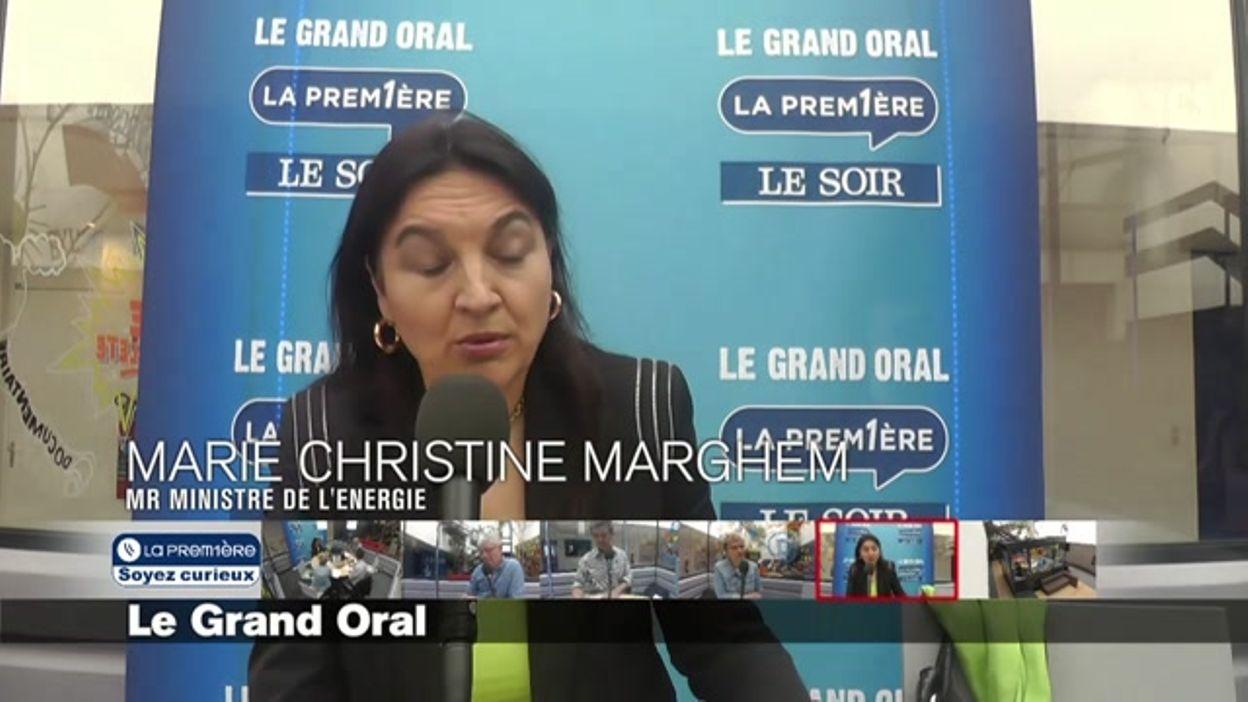 Le Grand Oral - Marie Christine Marghem