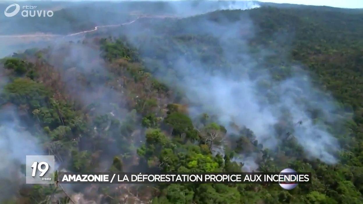 Amazonie : la déforestation propice aux incendies