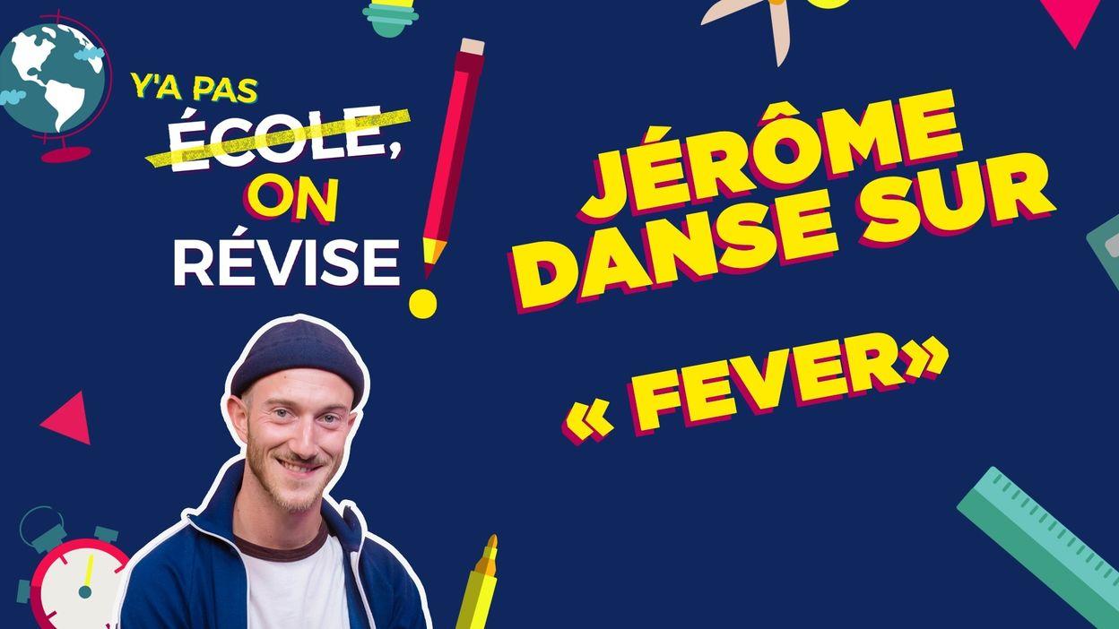 Jérôme danse sur Fever d'Angèle et Dua Lipa