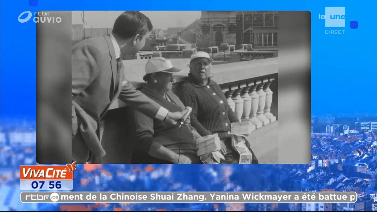 En 1964, Sélim Sasson nous présente deux bruxelloises vendeuses de cartes postales