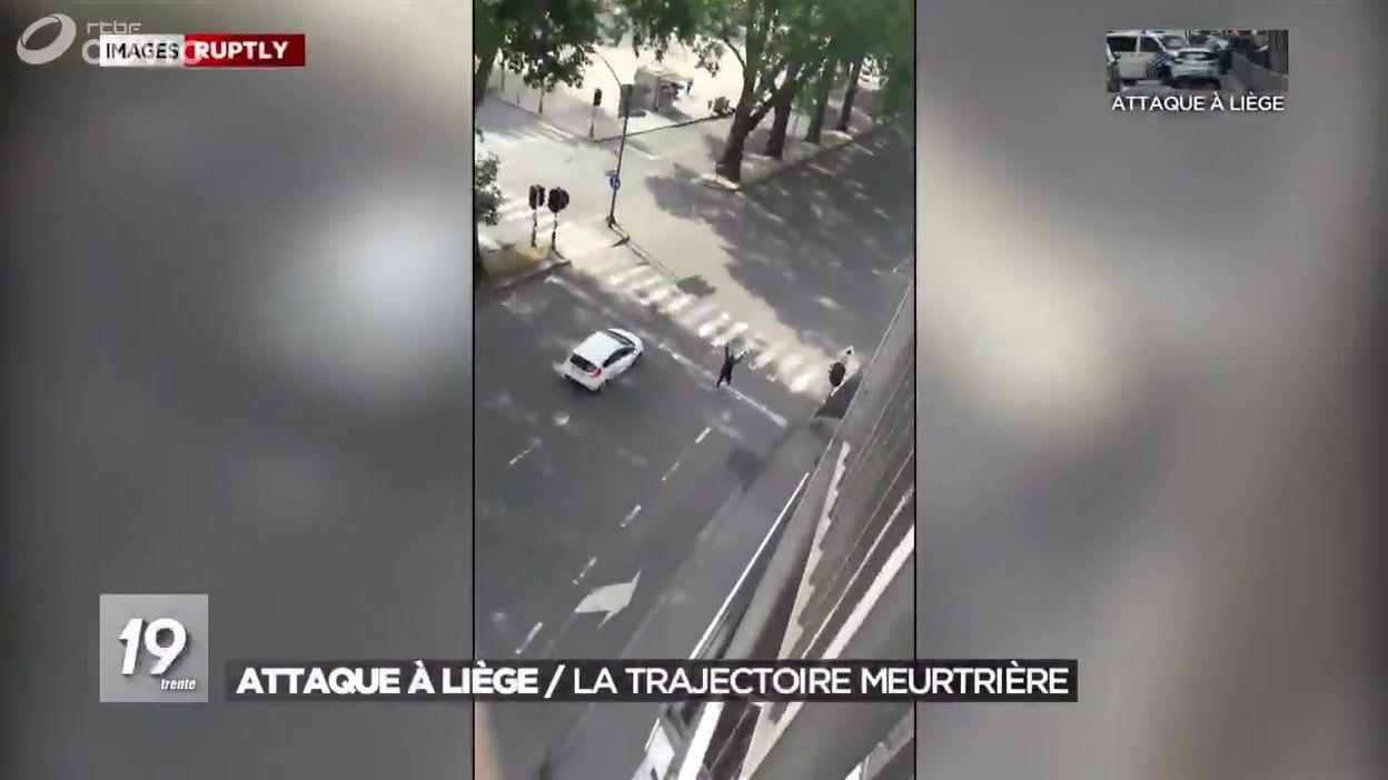 Attaque à Liège : la trajectoire meurtrière
