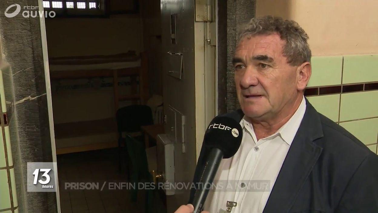 Prison : Enfin des rénovations à Namur
